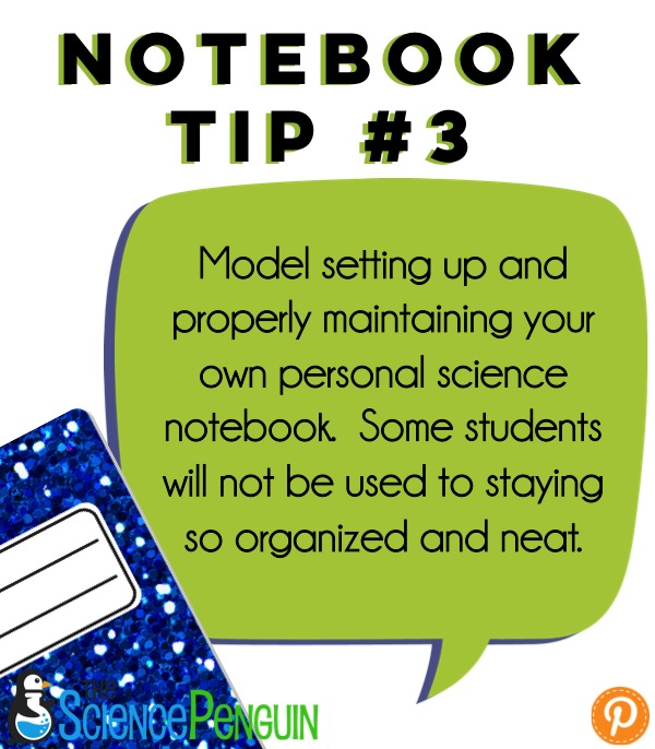 First Week: Setting Up Science Notebooks {Photos Galore
