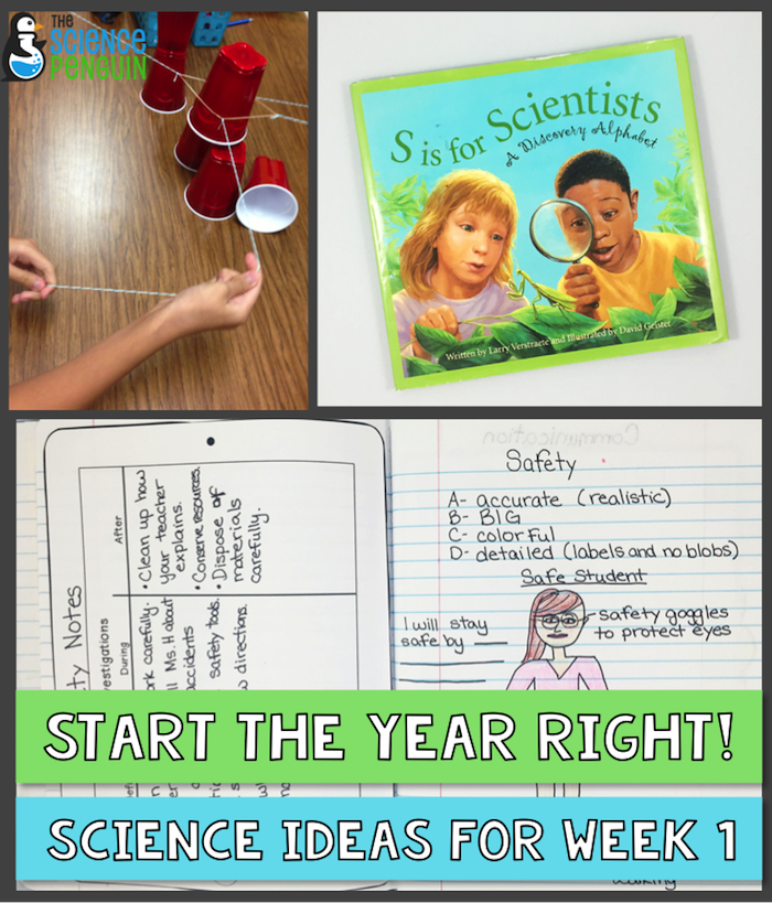 Updated: 6 First Day Activities for Middle School Science …