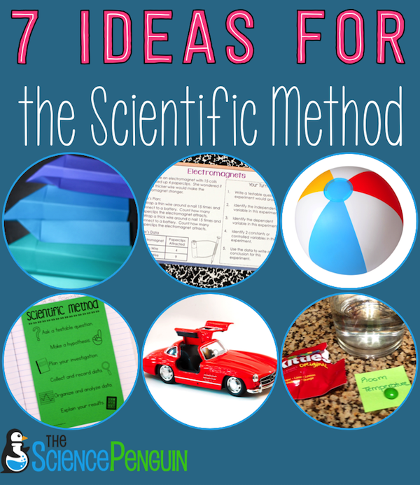 graphic about Scientific Method Printable named 7 Recommendations for Instruction the Clinical Approach The Science Penguin