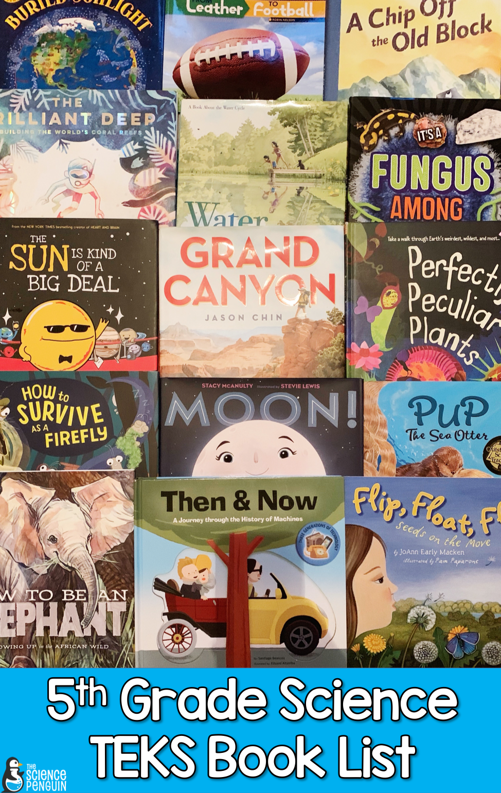 The Ultimate 5th Grade Science TEKS Book List